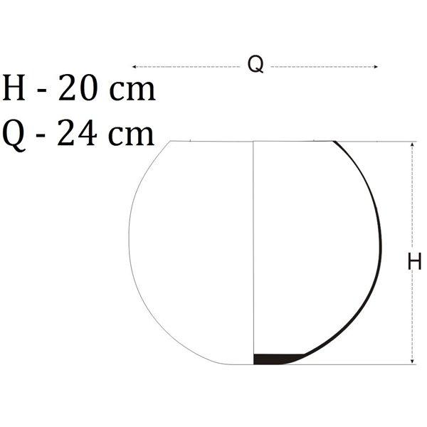 Kula z korkową przykrywką H-20cm