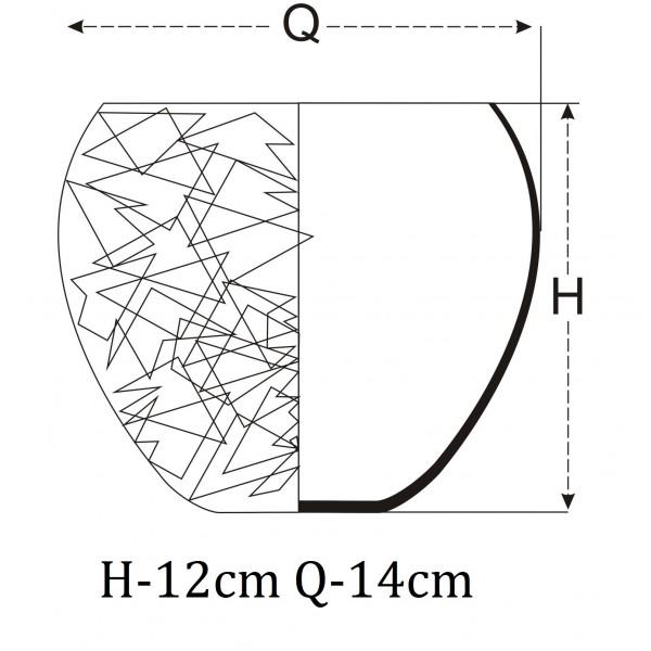 Osłonka na storczyk w kształcie kuli