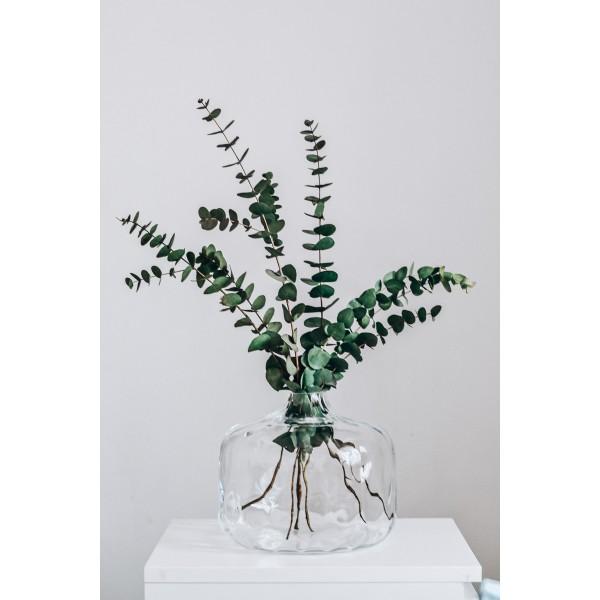 Wytłaczany wazon na wysokie trawy
