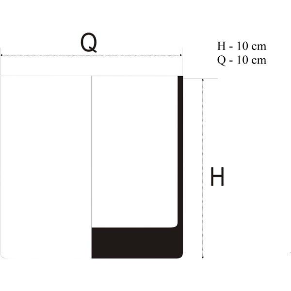 Tuba 10x10 cm