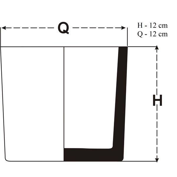 Tuba 12x12 cm