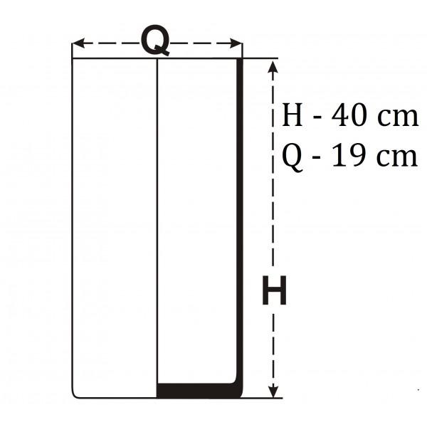 Tuba 40x19 cm