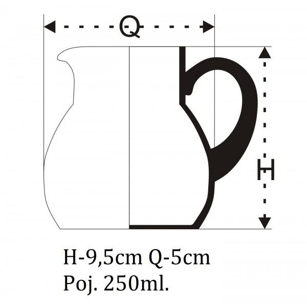 Dzbanuszek na mleko do kawy