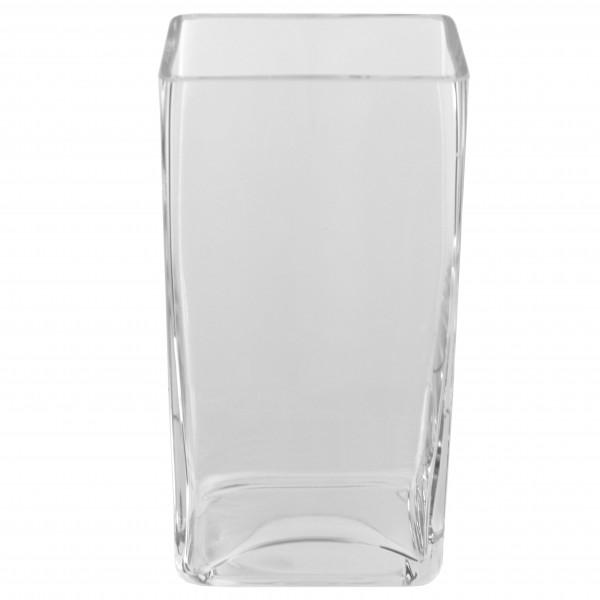 Szklany prostokąt 24 cm
