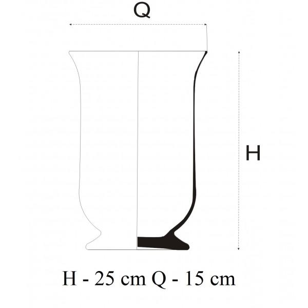 Świecznik do aranżacji - 3 wysokości