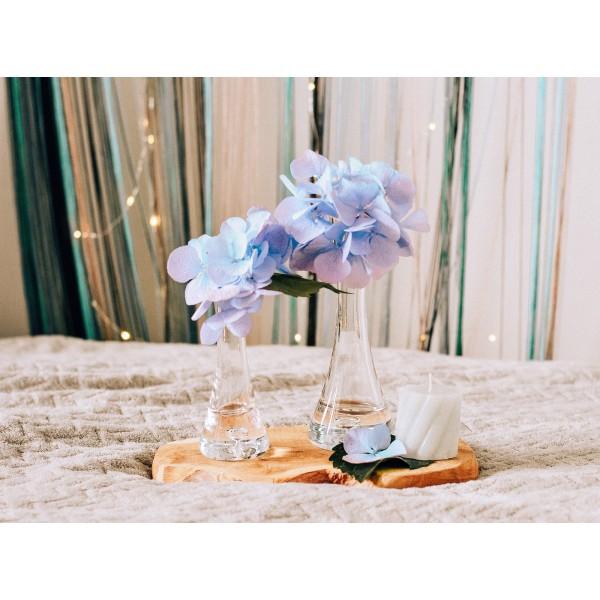 Elegancki wazonik na jeden kwiat (4 wysokości)